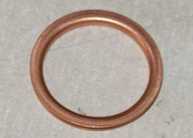 Copper Washer folded