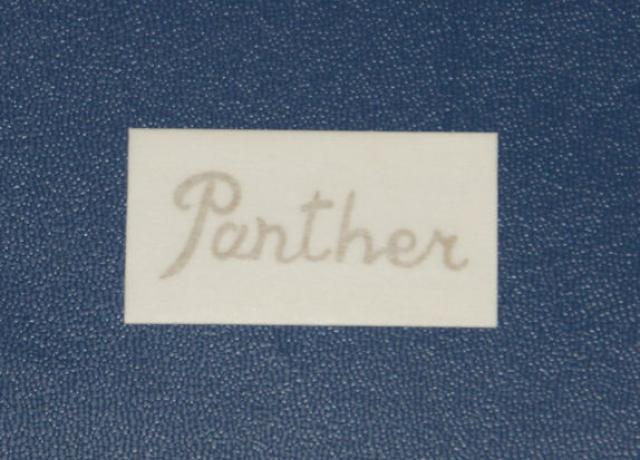 Panther Sticker Script