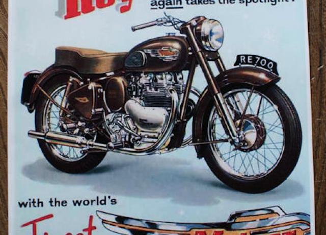 1954 by any standard...Royal Enfield again takes the Spotlight, Brochure