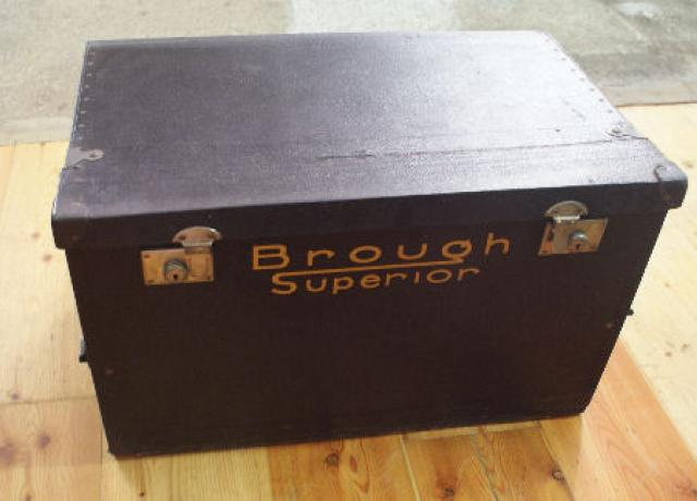 Brough Superior Vintage Travelling Trunk