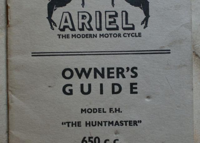Ariel Owner's Guide 1958-59