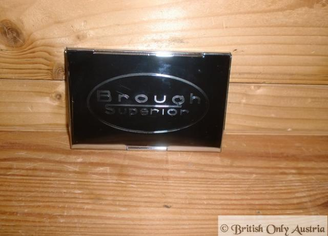 Brough Superior Business Card Holder