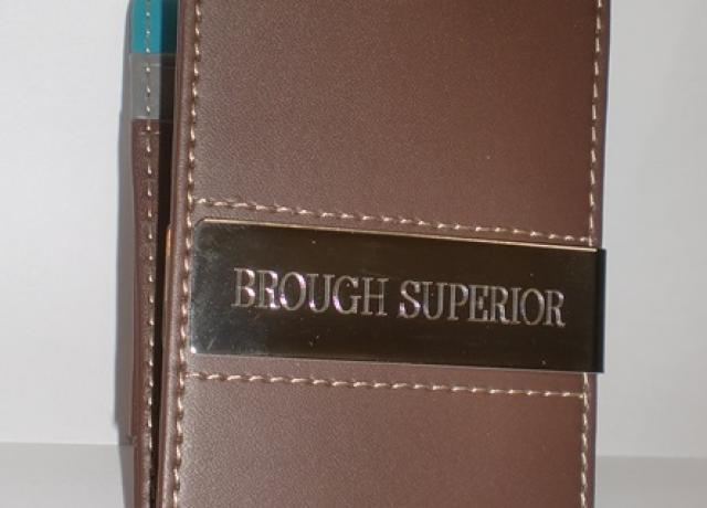 Brough Superior Banknote Case with Money Clip