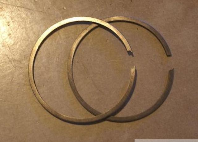 BSA 125cc D1 Piston Ring Set -60