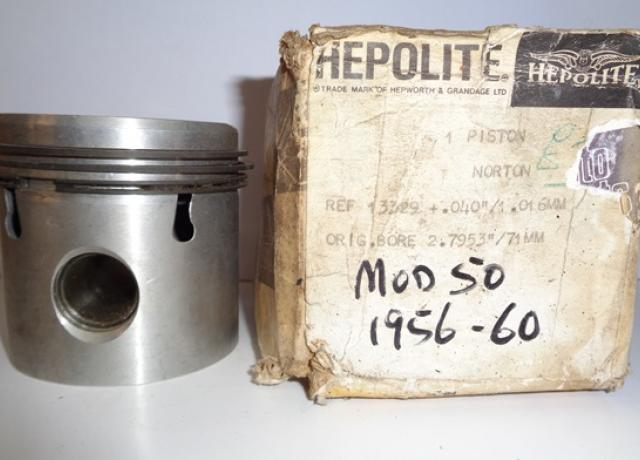 Norton Piston 348cc O.H.V. +040, NOS