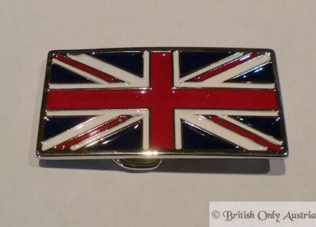 Brough Superior Belt Buckle Union Jack