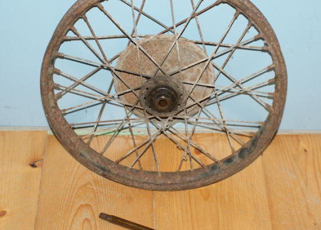 BSA Wheel 1946-47 used