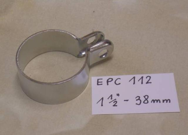 "Exhaust Clip 1 1/2"" - 38 mm"