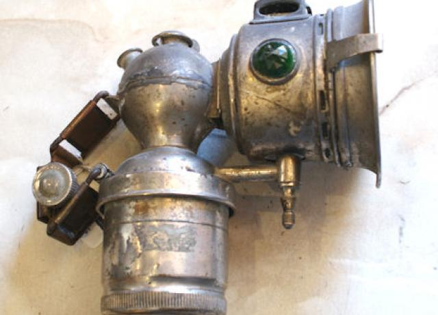 Acetylene/Carbide Light Cycle Miller, used