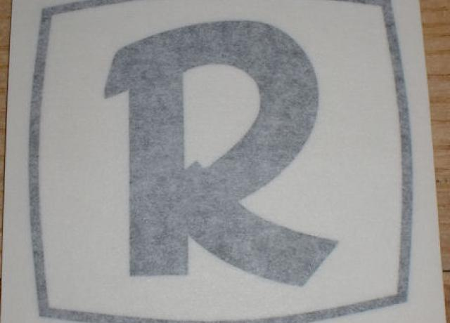 Rickman 'R' Sticker for Tank 1960's