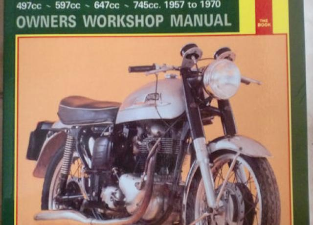 Norton 500, 600, 650 & 750 Twins Owners Workshop Manual. Haynes.