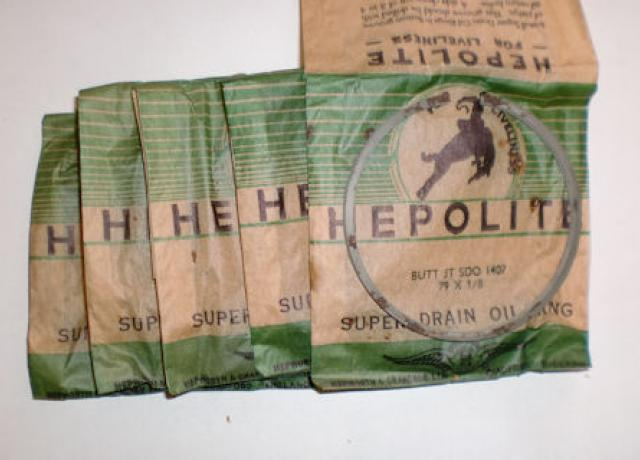"Hepolite Drain Oil Ring 79 x 1/8"" /5 Pieces"