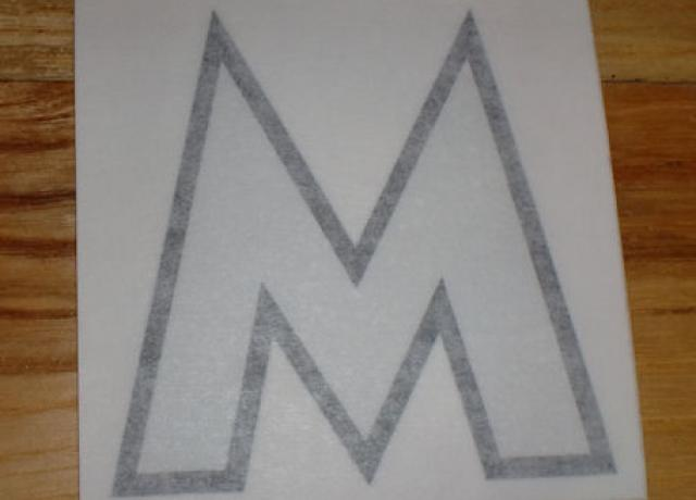 "Matchless ""M"" Sticker f. Side Panel early 1930's"