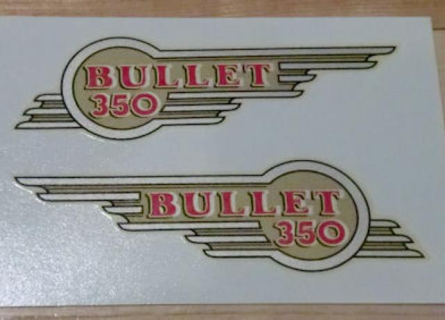 Royal Enfield Bullet 350 Transfer/Pair Mid 50's