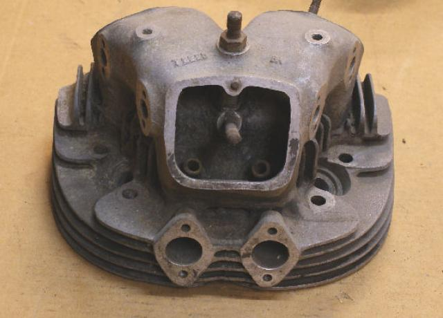 Norton Alloy Cylinder Head  used