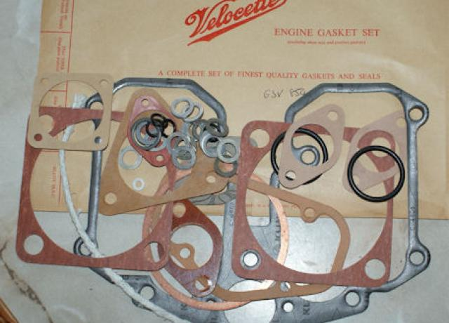 Velocette Engine Gasket Set 500cc MSS/Venom Genuine
