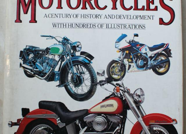 100 Years Of Motorcycles by Massimo Clarke, Book