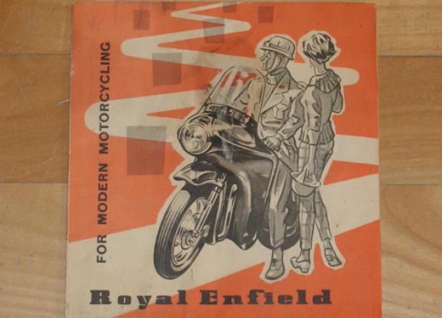 Royal Enfield - For Modern Motorcycling, Brochure
