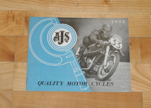AJS Quality Motor Cycles 1955, Brochure