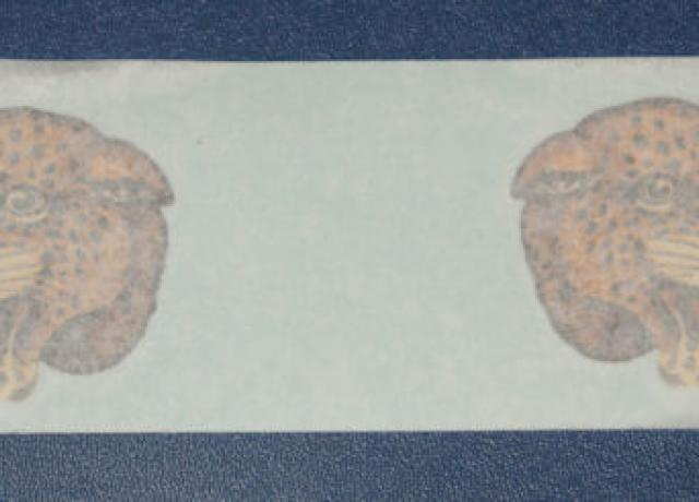 Panther Heads Sticker 1937/38 Pair