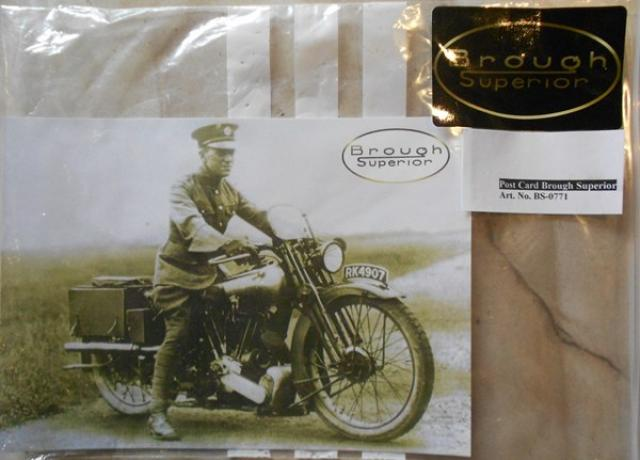 Post Card/Photograph Brough Superior