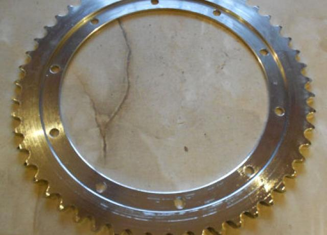 BSA B25 52T. Wheel Sprocket  1/4""