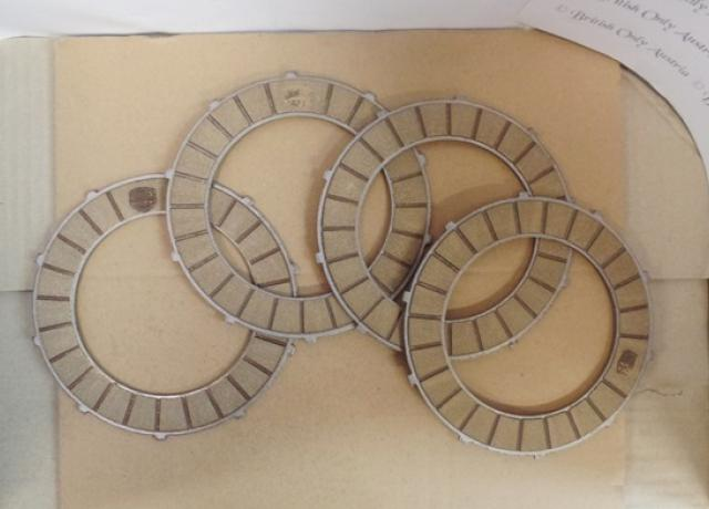 Triumph Clutch Plate Set*4 500/650/750 Twins Surflex