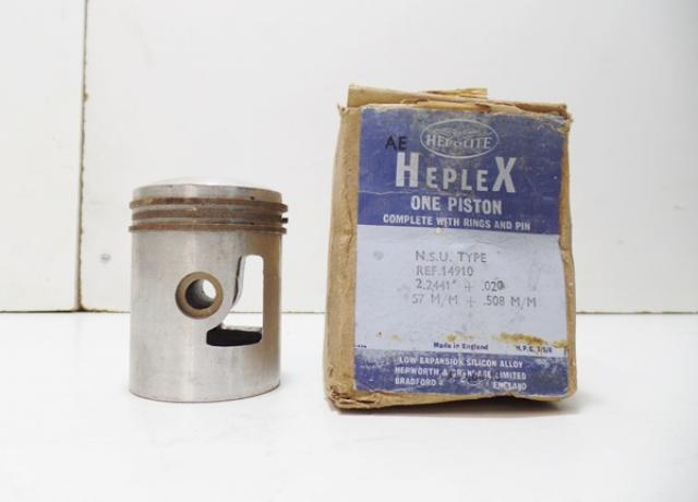 Heplex Piston N.S.U Type 14910 +020 NOS